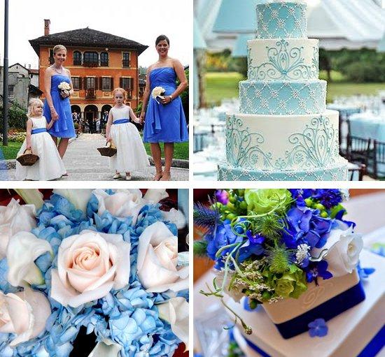 Matrimonio Tema Bianco E Blu : News
